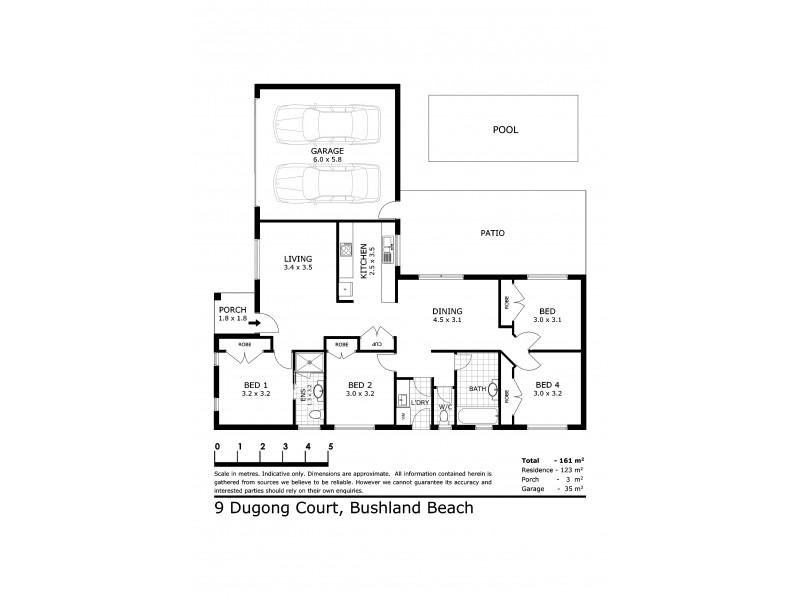 9 Dugong Court, Bushland Beach QLD 4818 Floorplan
