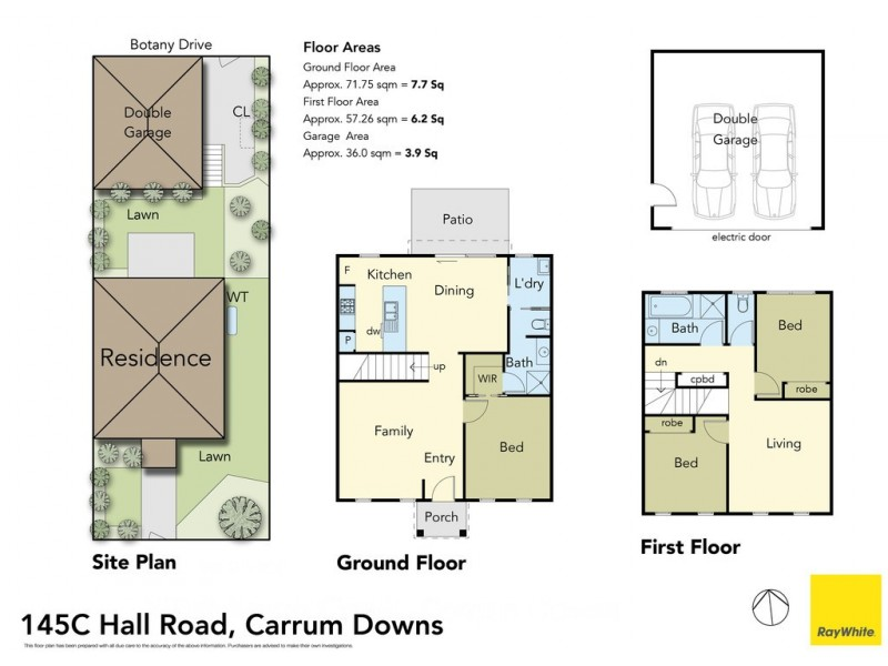 145C Hall Road, Carrum Downs VIC 3201 Floorplan