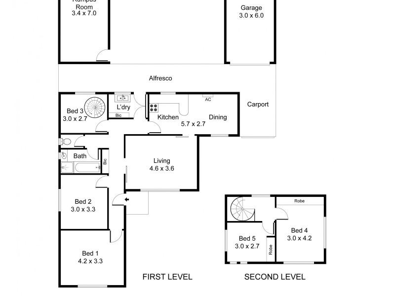 11 Amanda Avenue, Findon SA 5023 Floorplan