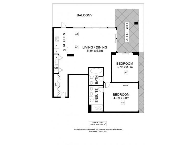 209 The Sails, New Port SA 5015 Floorplan