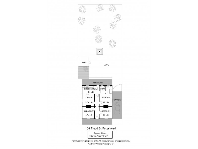 106 Mead Street, Peterhead SA 5016 Floorplan