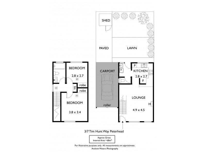 3/7 Tim Hunt Way, Peterhead SA 5016 Floorplan