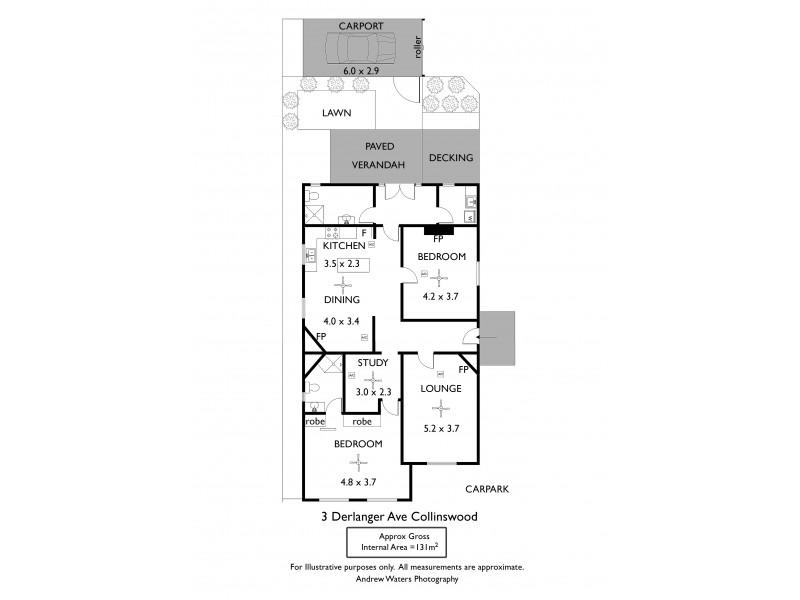 3 Derlanger Avenue, Collinswood SA 5081 Floorplan