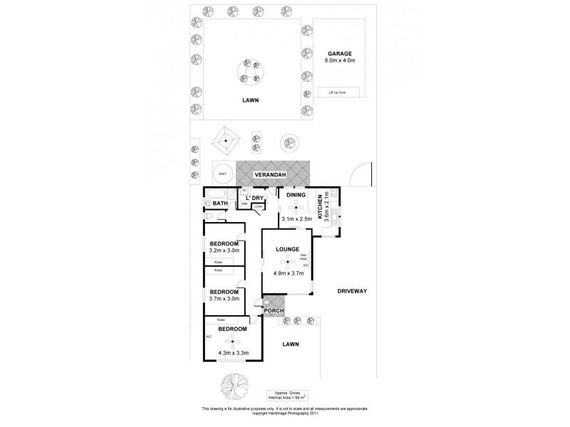 11 Sanderson Street, Peterhead SA 5016 Floorplan