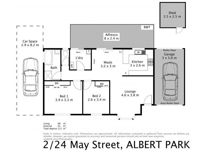 2/24 May Street, Albert Park SA 5014 Floorplan