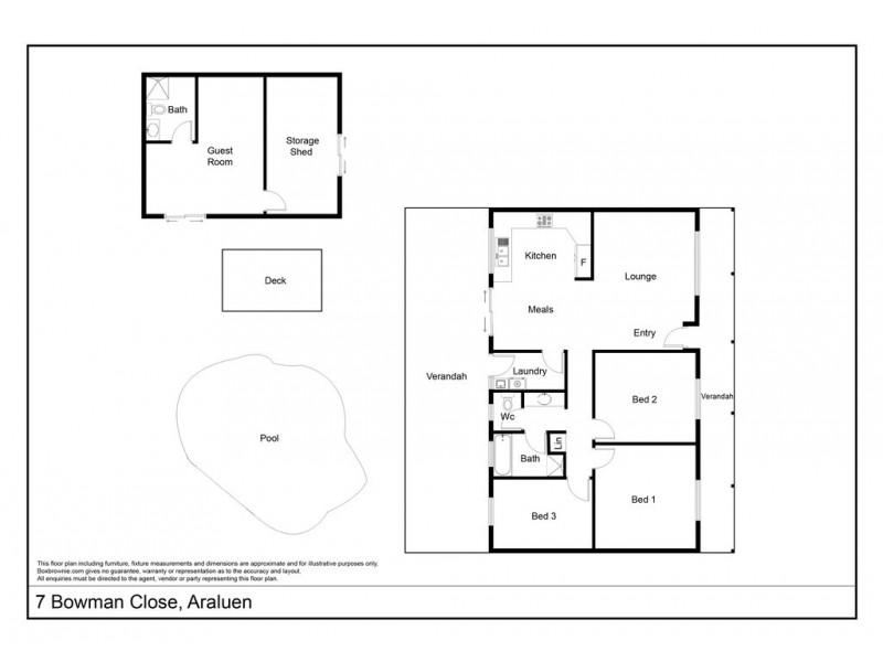 7 Bowman Close, Araluen NT 0870 Floorplan