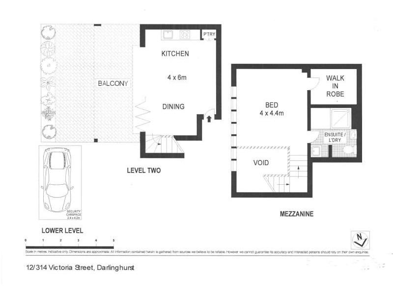 12/314-316 VICTORIA STREET, Darlinghurst NSW 2010 Floorplan