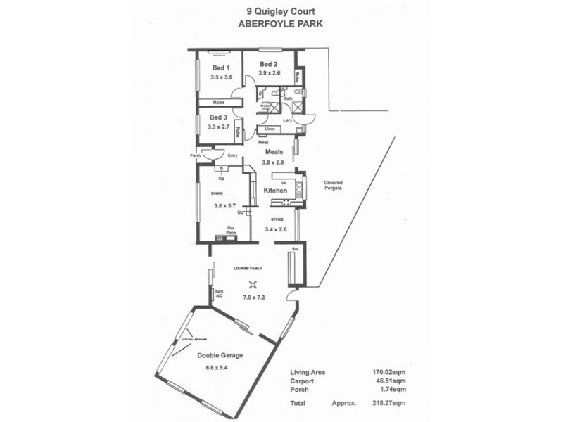 9 QUIGLEY COURT, Aberfoyle Park SA 5159