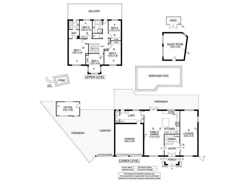 7 Willow Way, Aberfoyle Park SA 5159 Floorplan