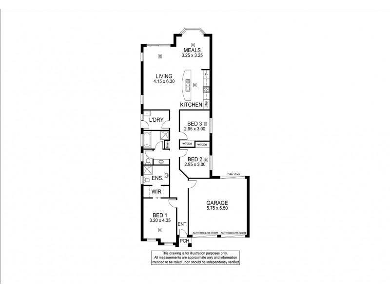 3A Oakridge Close, Aberfoyle Park SA 5159 Floorplan