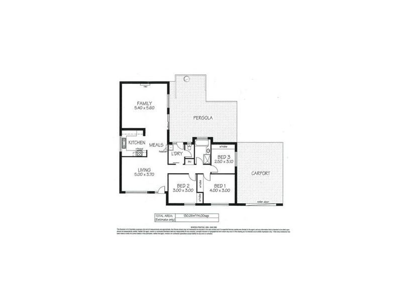 5 Opal Street, Aberfoyle Park SA 5159 Floorplan