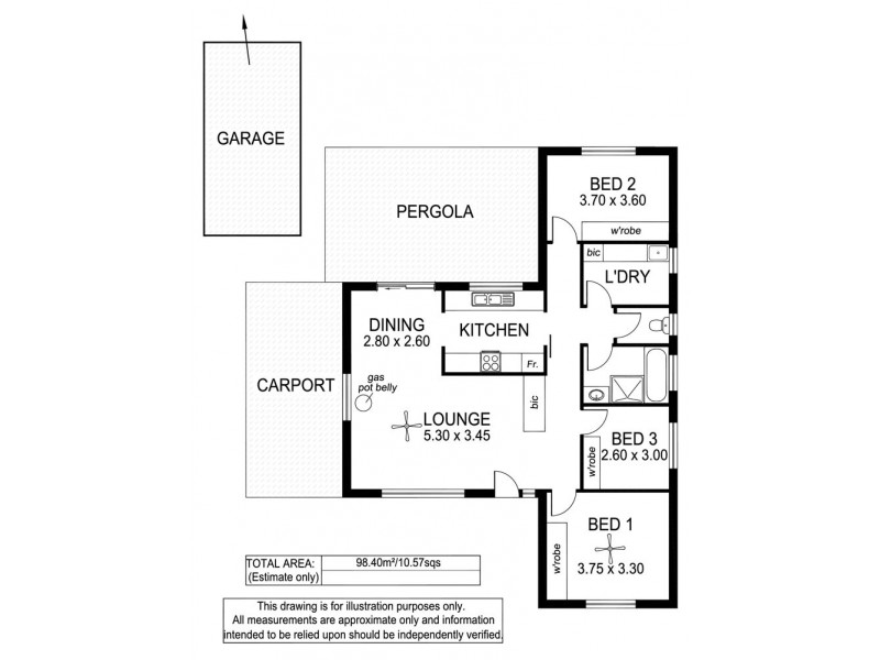 4 Ivy Street, Aberfoyle Park SA 5159 Floorplan