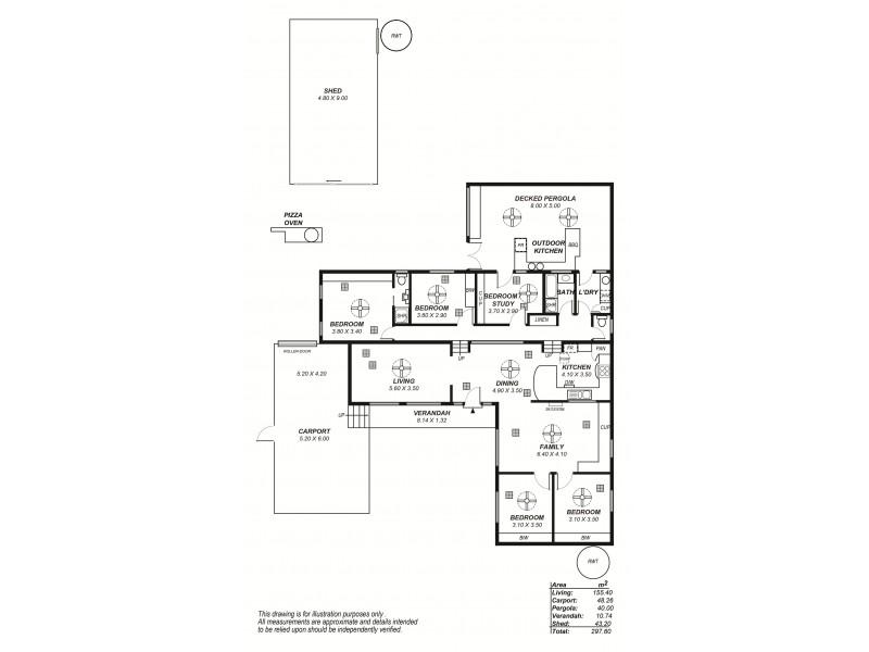 6 Catharina Street, Flagstaff Hill SA 5159 Floorplan