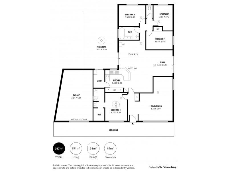 6 Pridham Court, Aberfoyle Park SA 5159 Floorplan