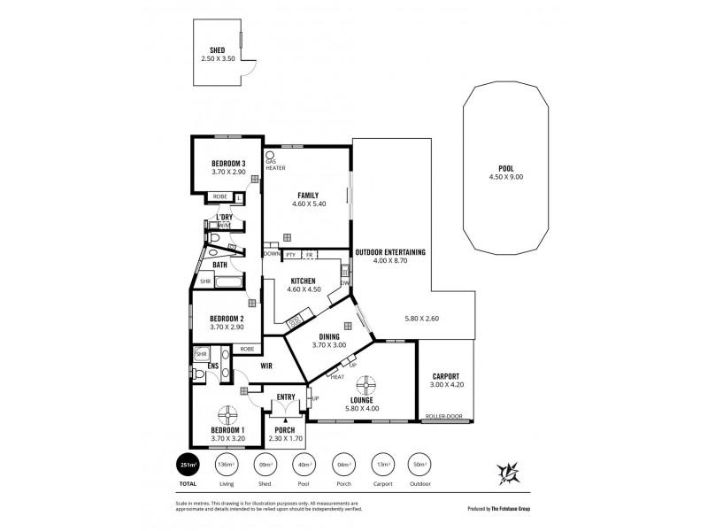 24 Vennachar Drive, Hallett Cove SA 5158 Floorplan