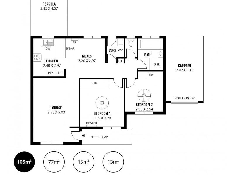 10/48 Sunnymeade Drive, Aberfoyle Park SA 5159 Floorplan
