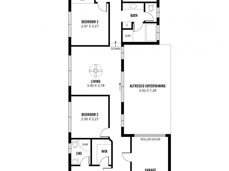 13a Windebanks Road, Aberfoyle Park SA 5159 Floorplan