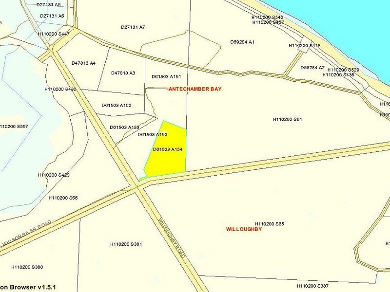 Lot 154 Willoughby Road, Antechamber Bay SA 5222