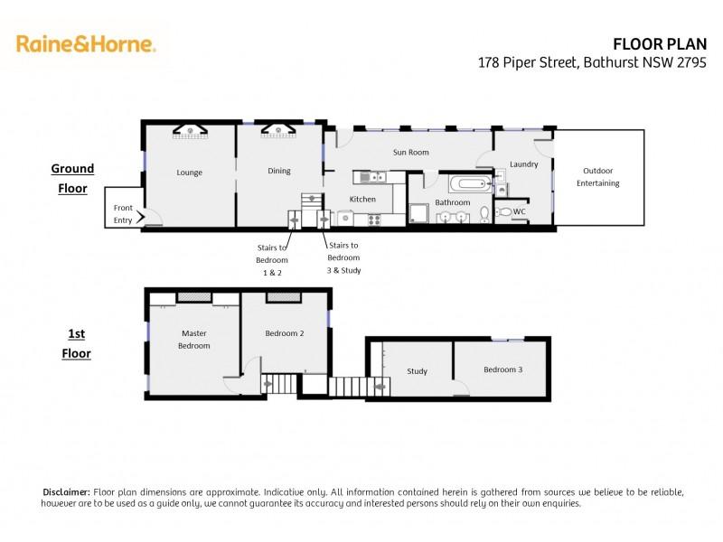 178 Piper Street, Bathurst NSW 2795 Floorplan