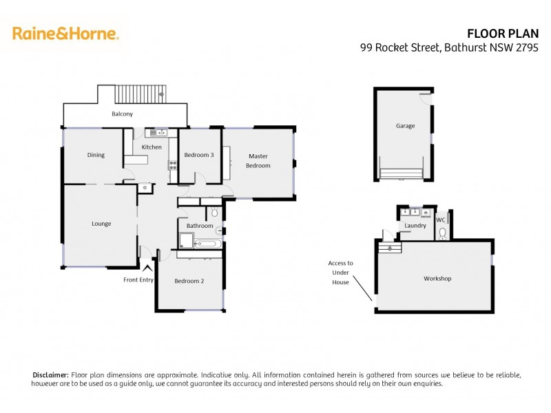 99 Rocket Street, Bathurst NSW 2795 Floorplan
