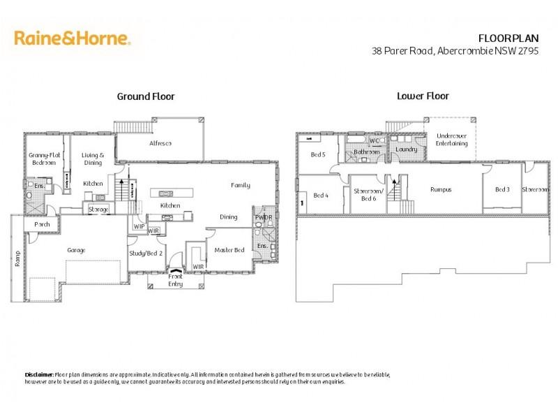 38 Parer Road, Abercrombie NSW 2795 Floorplan