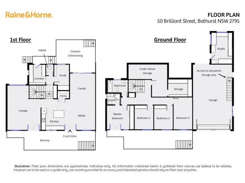 50 Brilliant Street, Bathurst NSW 2795 Floorplan