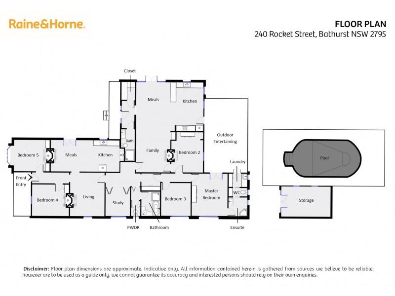 240 Rocket Street, Bathurst NSW 2795 Floorplan