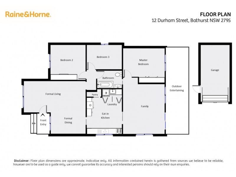 12 Durham Street, Bathurst NSW 2795 Floorplan