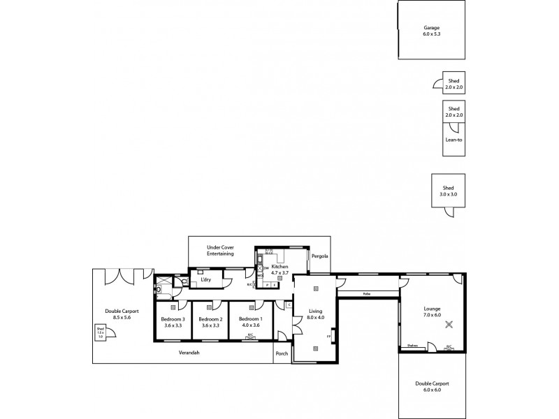 35 Salisbury Highway, Salisbury SA 5108 Floorplan