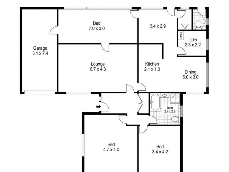 9-11 Sorell Street, George Town TAS 7253 Floorplan
