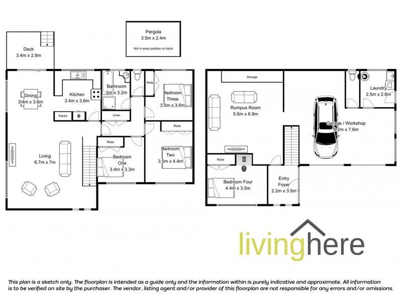 41 Cambridge Street, West Launceston TAS 7250 Floorplan