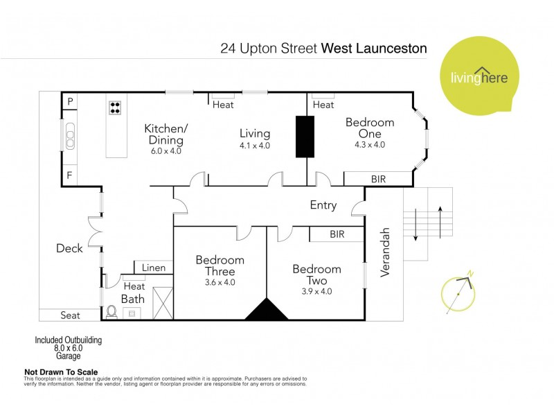 24 Upton Street, Launceston TAS 7250 Floorplan