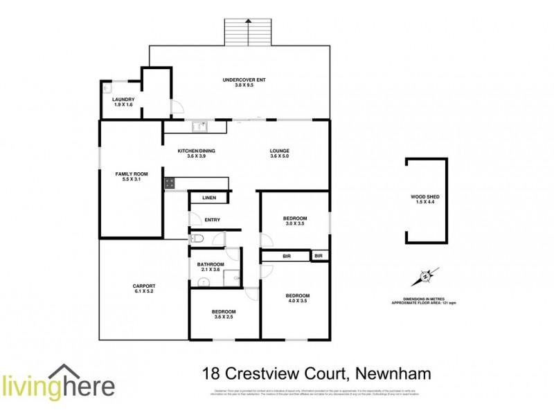 18 Crestview Court, Newnham TAS 7248