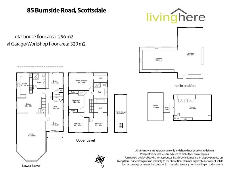 85 Burnside Road, Scottsdale TAS 7260 Floorplan