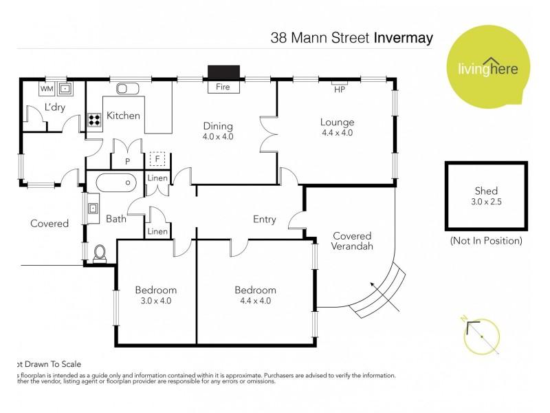 38 Mann Street, Invermay TAS 7248 Floorplan