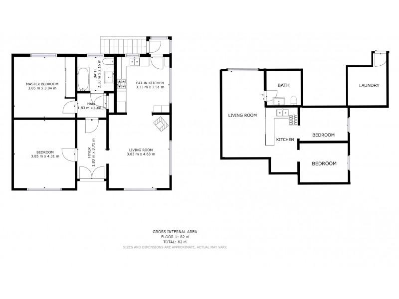6 Milton Crescent, Moonah TAS 7009 Floorplan