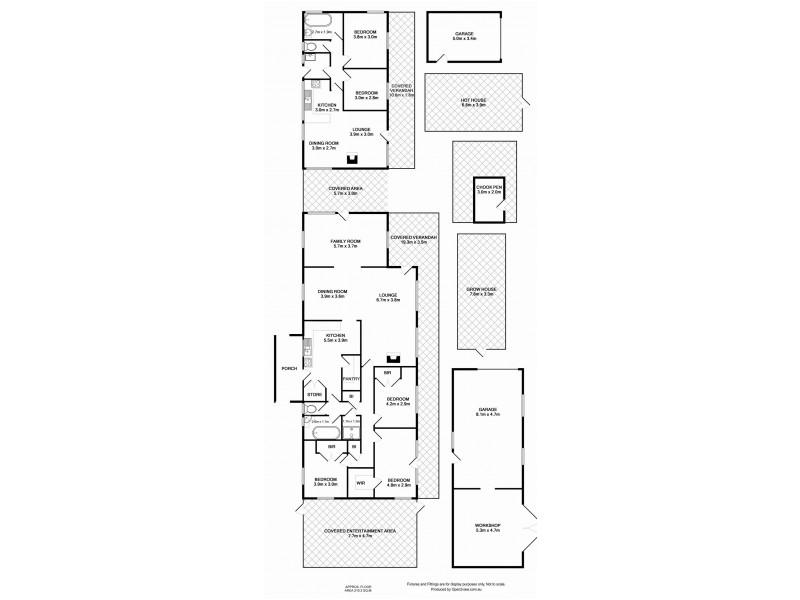 31 Hall Lane, Bagdad TAS 7030 Floorplan