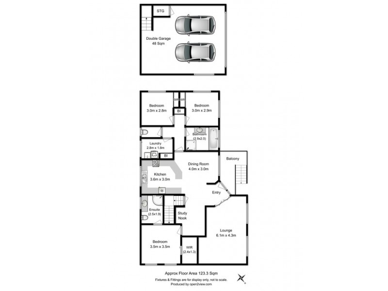 13 Baltonsborough Road, Austins Ferry TAS 7011 Floorplan