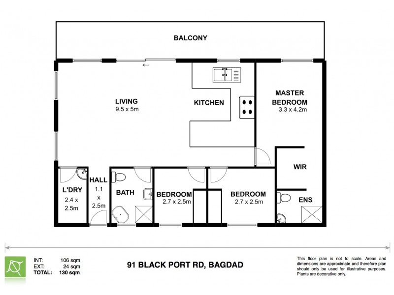 91 Blackport Road, Bagdad TAS 7030 Floorplan