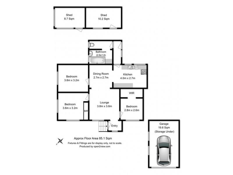 41 First Ave, West Moonah TAS 7009 Floorplan