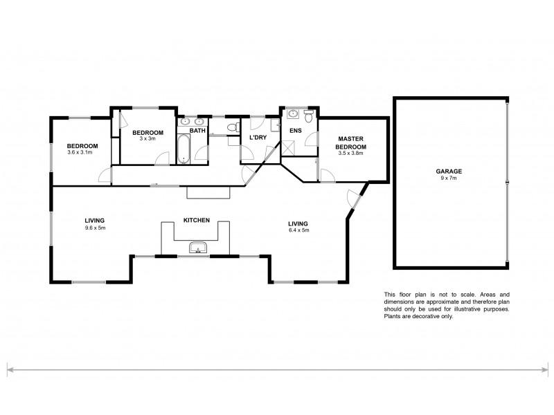 371 Green Valley Road, Bagdad TAS 7030 Floorplan