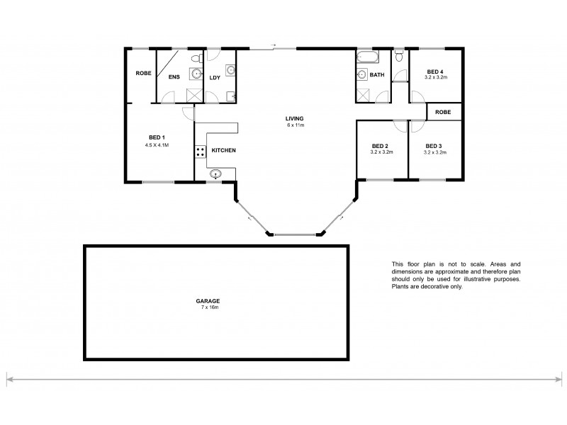 2 Hylands Road, Bagdad TAS 7030 Floorplan