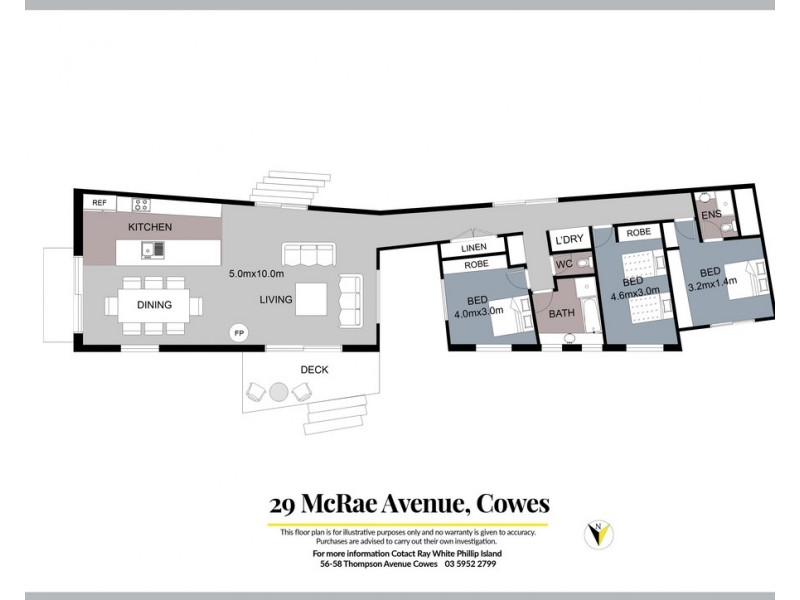29 McRae Avenue, Cowes VIC 3922 Floorplan