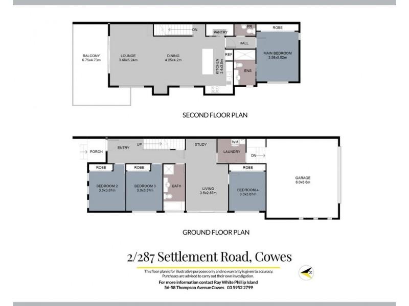 2/287 Settlement Road, Cowes VIC 3922 Floorplan