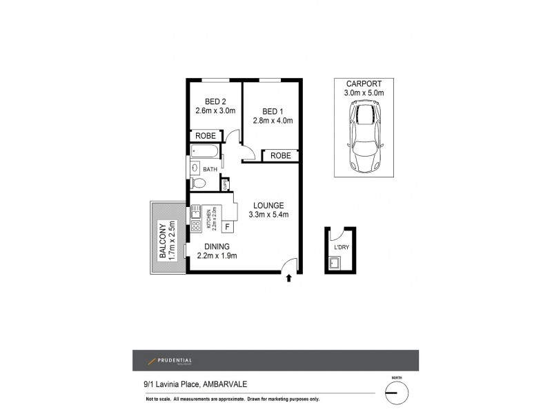 9/1 Lavinia Place, Ambarvale NSW 2560 Floorplan