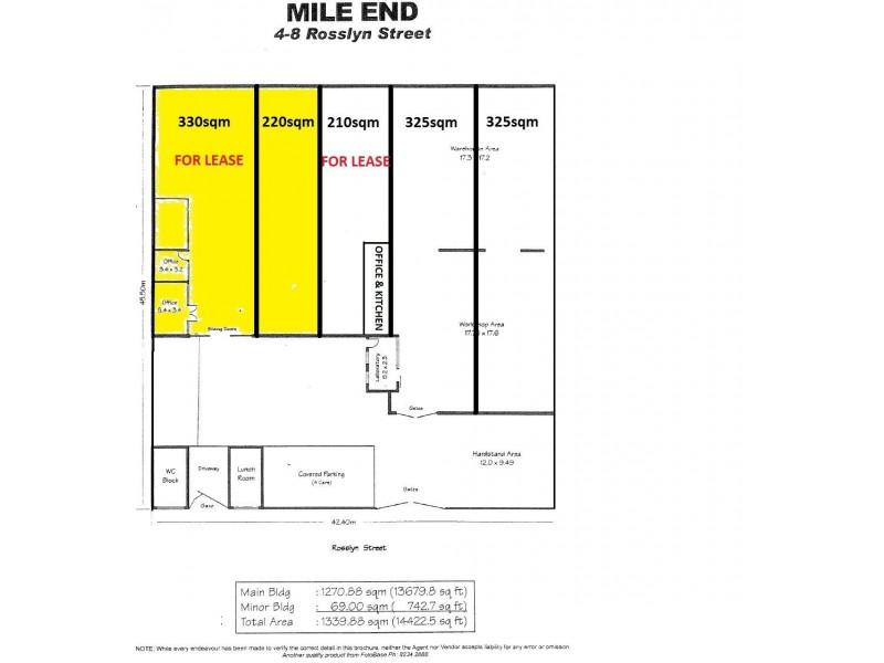 2/4-8 Rosslyn Street, Mile End SA 5031 Floorplan