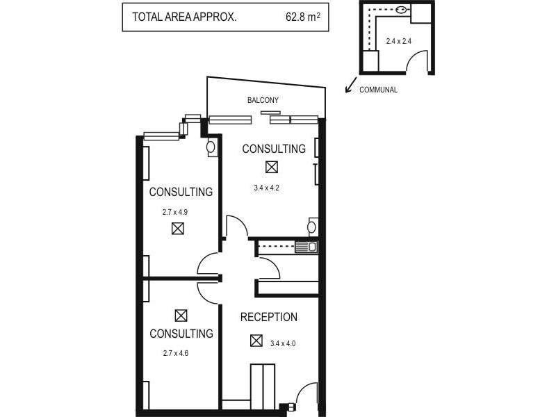 201/147 Pirie Street, Adelaide SA 5000 Floorplan
