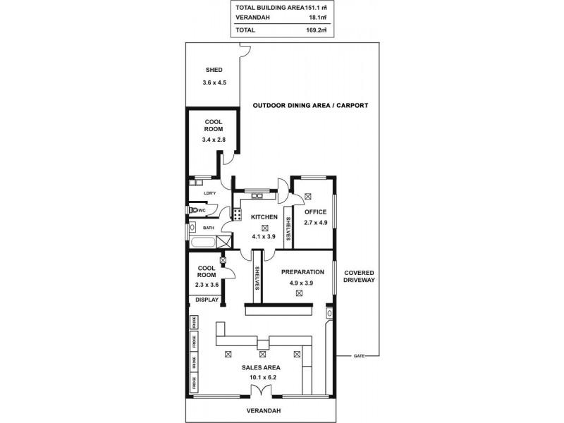 335A CHURCHILL ROAD, Kilburn SA 5084 Floorplan