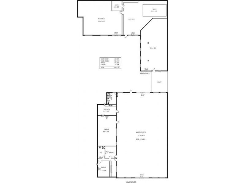156 Commercial Rd, Salisbury SA 5108 Floorplan