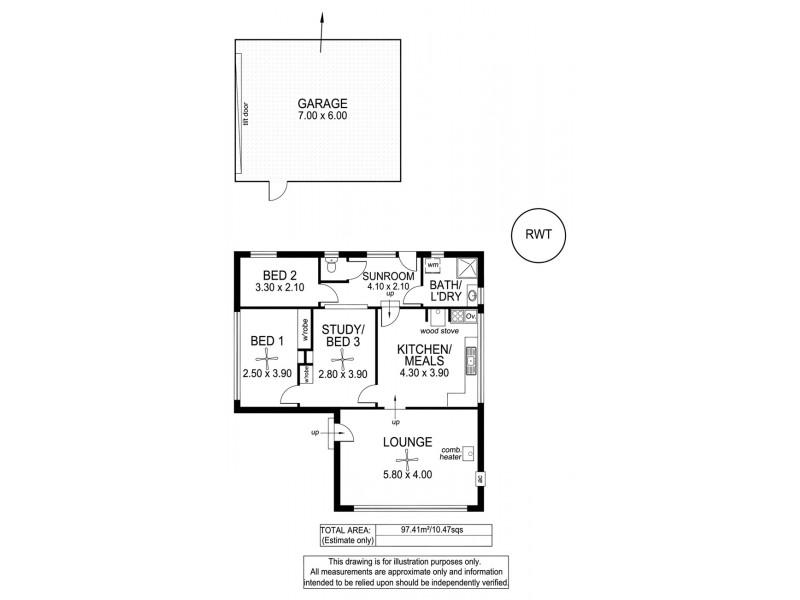 32 Wycombe Road, Aldgate SA 5154 Floorplan